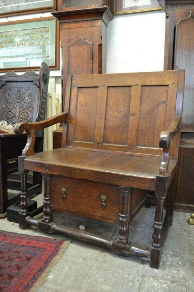 17th Century Oak Settle