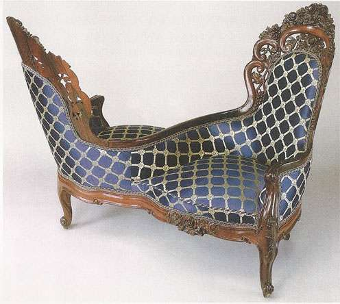 elaborate loveseat